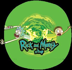Rick and Morty Shop Logo