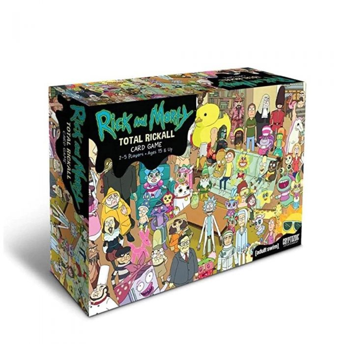 Rick Board Games Total Rickall Morty Card game For Family Party home Entertainment toys strategy table.jpg Q90.jpg 5 - Rick And Morty Shop