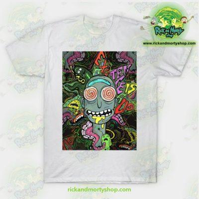 Acid Rick Sanchez T-Shirt White / S T-Shirt