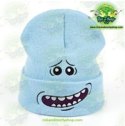 Cute Mr. Meeseeks Winter Knitted Hats