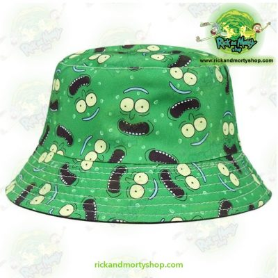 Top 7 Rick and Morty Hats 2021 - Cute Pickle Rick Bucket Hat