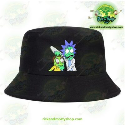 Cute Rick And Morty 3D Bucket Hat