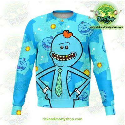 Cute Rick & Morty Meeseeks Sweatshirt Xs Athletic - Aop