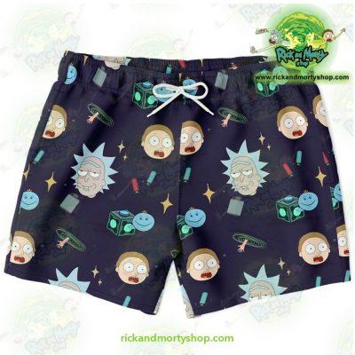 Cute Rick & Morty Swim Trunk Fashion 2021 Xs Trunks Men - Aop
