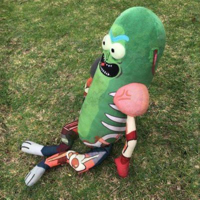 Hot 45Cm Pickle Rick Plush Doll