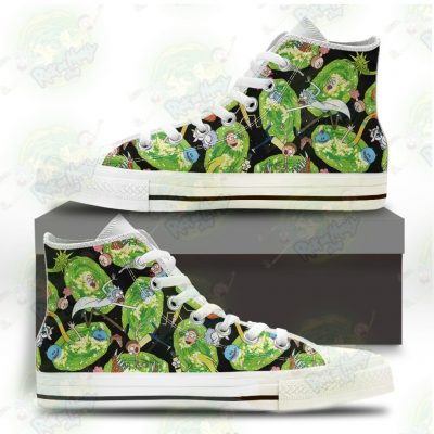 Hot Rick And Morty Universe 3D Converse Shoes Us 5