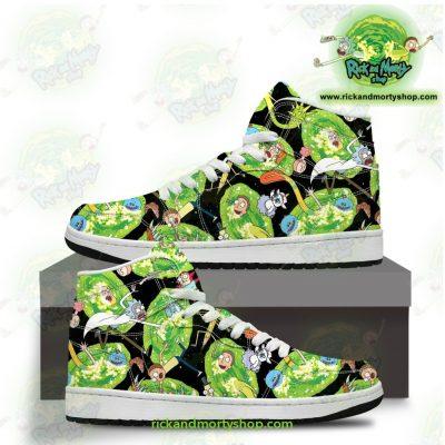 Hot Rick And Morty Universe 3D Custom Jordan Shoes Jd Sneakers