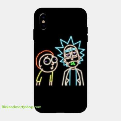 Neon Rick and Morty