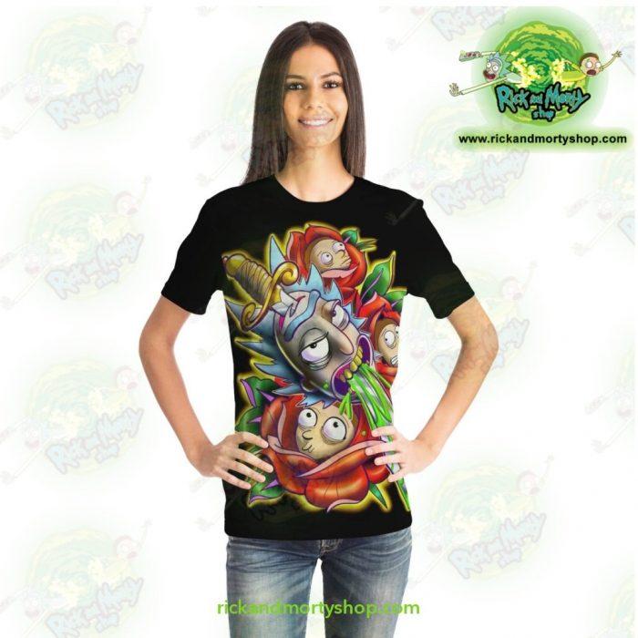 New Rick & Morty 3D Design T-Shirt