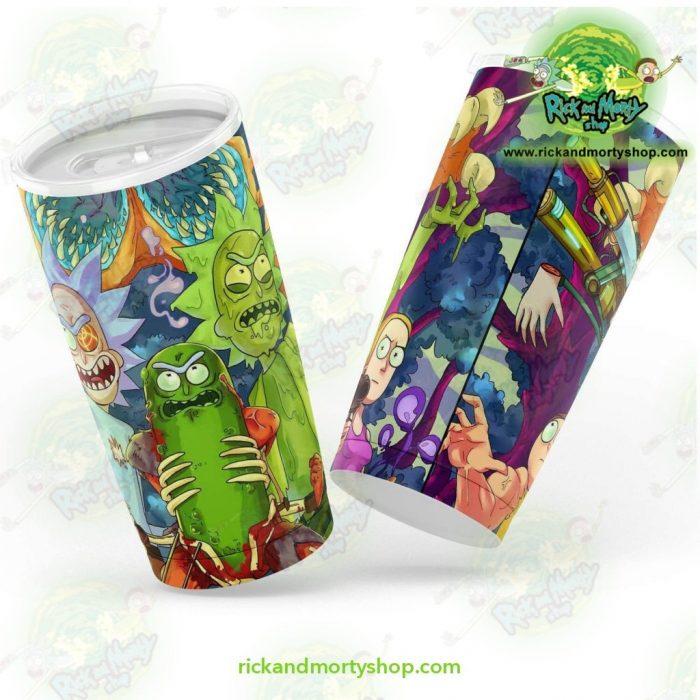 Pickle Rick 3D Tumbler 20Oz - Aop