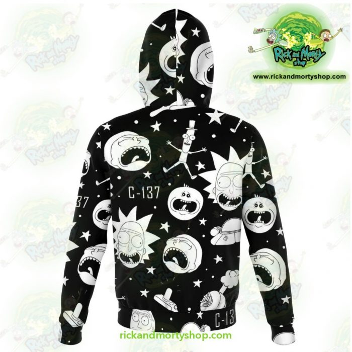 Rick And Morty 3D Hoodie Crazy C137 Athletic - Aop