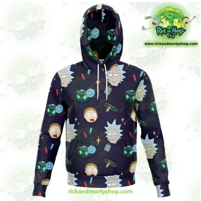 Rick And Morty 3D Hoodie Cute Fashion 2021 Xs Athletic - Aop