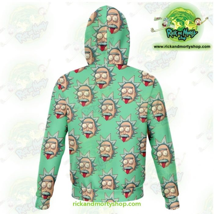 Rick And Morty 3D Hoodie - Funny Face Sanchez Athletic Aop