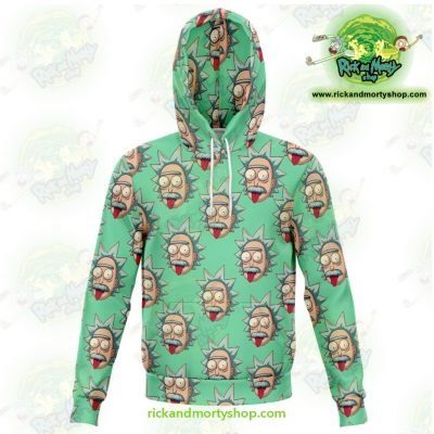 Rick And Morty 3D Hoodie - Funny Face Sanchez Xs Athletic Aop