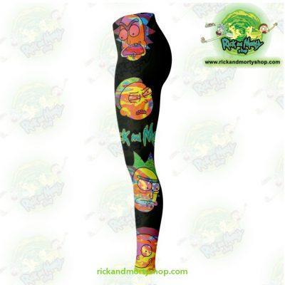 Rick And Morty Alien 3D Legging Leggings - Aop