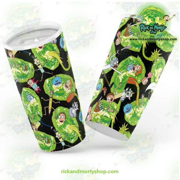 Rick And Morty Alien World Tumbler 20Oz - Aop
