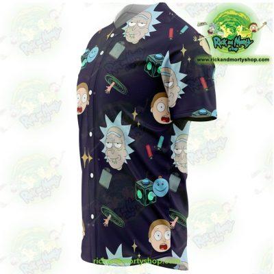 Rick And Morty Baseball Jersey Cute Fashion - Aop