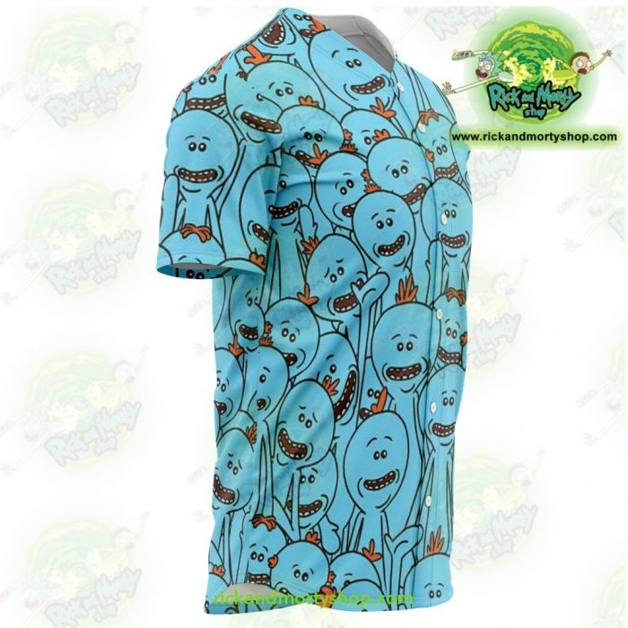 Rick And Morty Baseball Jersey - Many Meeseeks Aop