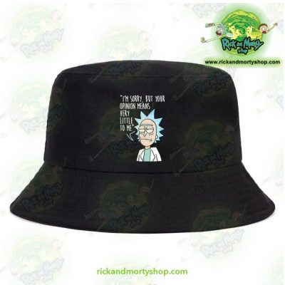 Rick And Morty Bucket Hat - Im Sorry Black