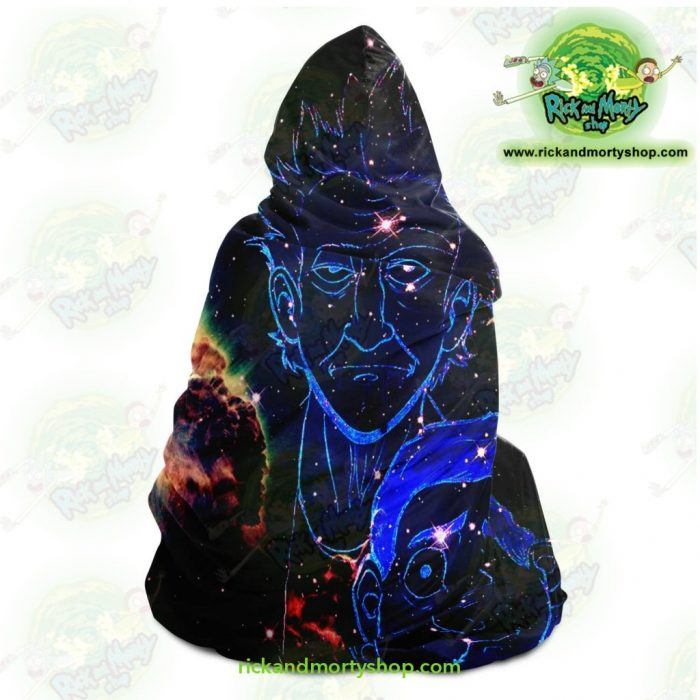Rick And Morty Constellation Hooded Blanket - Aop