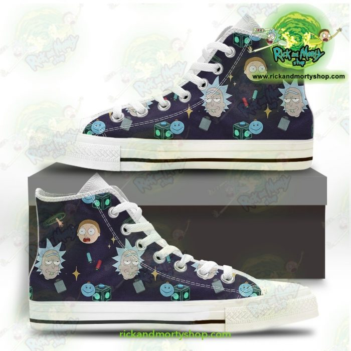 Rick And Morty Converse Shoes Cute Fashion Us 5
