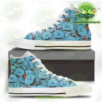 Rick And Morty Converse Shoes - Many Meeseeks Us 5