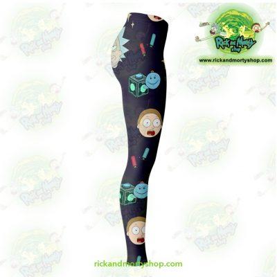 Rick And Morty Cute 3D Legging Leggings - Aop