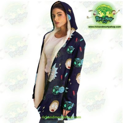 Rick And Morty Dream Cloak Coat Cute Fashion 2021 Microfleece - Aop