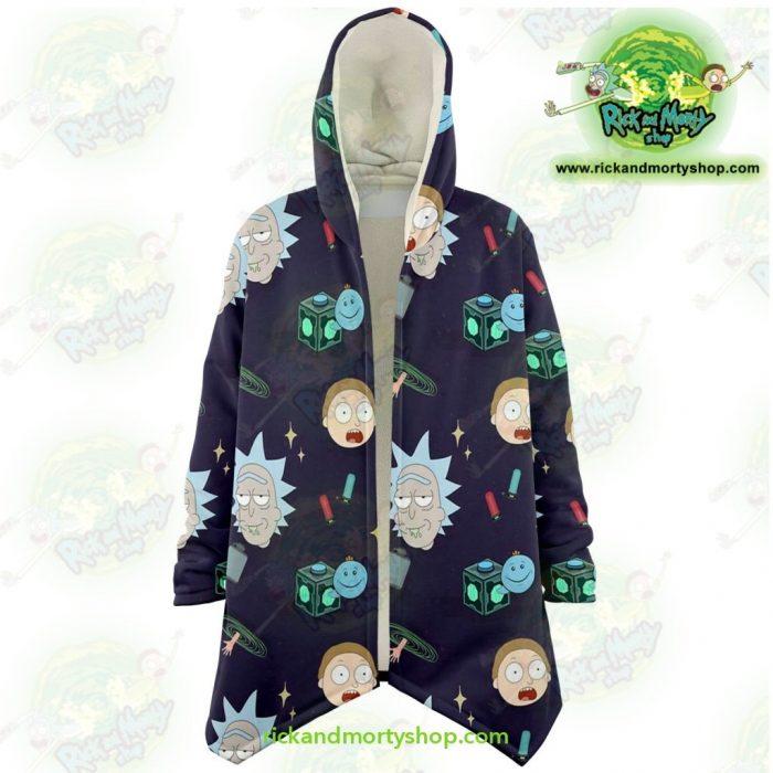 Rick And Morty Dream Cloak Coat Cute Fashion 2021 Xs Microfleece - Aop
