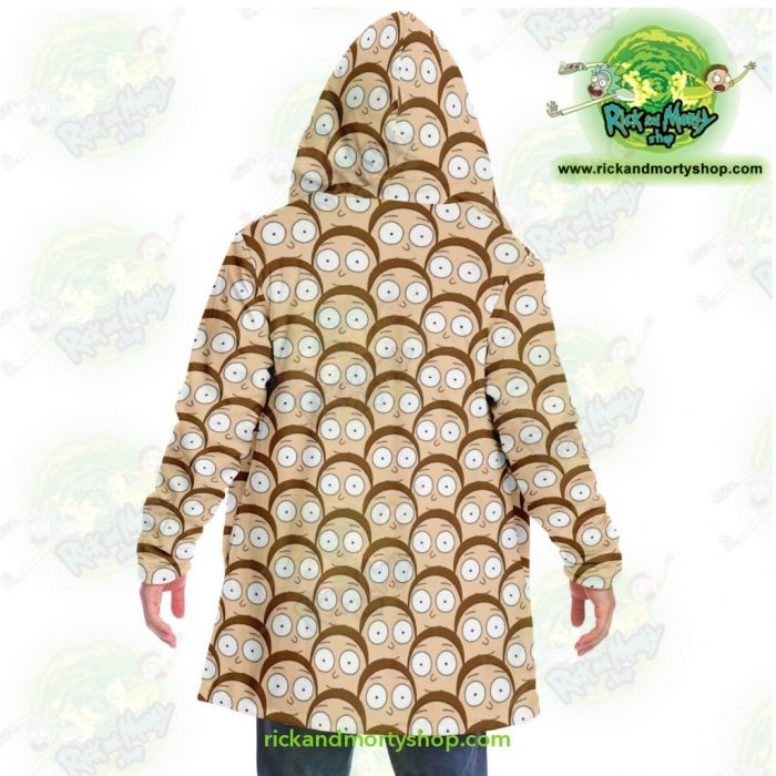 Rick And Morty Dream Cloak Coat - Many Face Smith Microfleece Aop