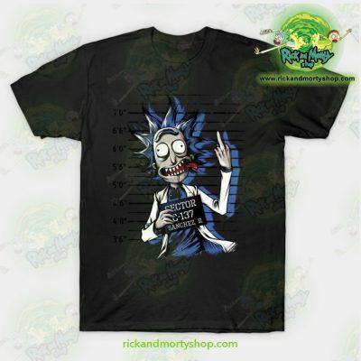 Rick And Morty Free T-Shirt Black / S T-Shirt