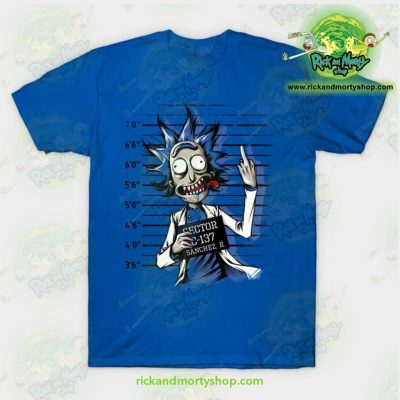 Rick And Morty Free T-Shirt Blue / S T-Shirt