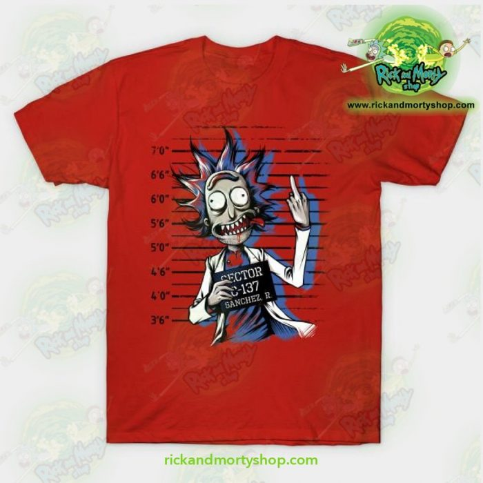 Rick And Morty Free T-Shirt Red / S T-Shirt