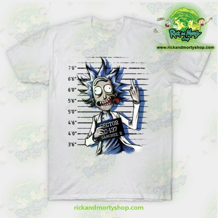 Rick And Morty Free T-Shirt White / S T-Shirt