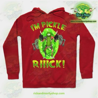 Rick And Morty Hoodie - Im Pickle Rick! Red / S Athletic Aop