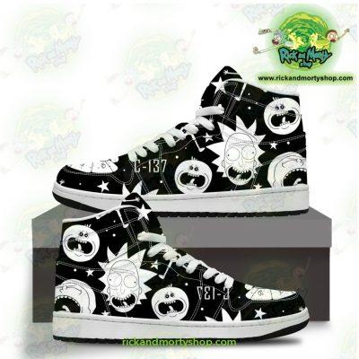 Rick And Morty Jordan Sneakers - Crazy C137 Men / Us6.5 Jd