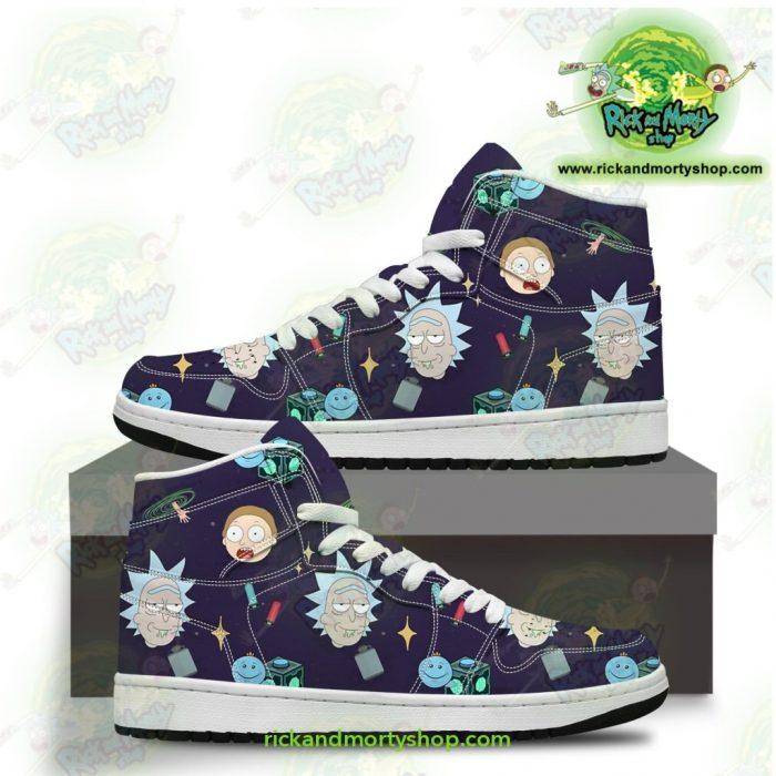 Rick And Morty Jordan Sneakers - Cute Fashion Men / Us6.5 Jd