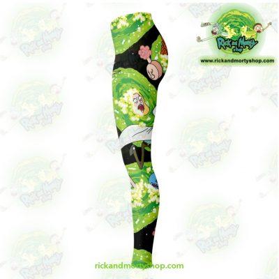 Rick And Morty Legging Colorfull 3D Fashion Leggings - Aop