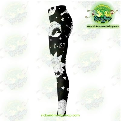 Rick And Morty Legging Crazy C137 Leggings - Aop