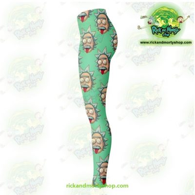 Rick And Morty Legging - Funny Face Sanchez Leggings Aop