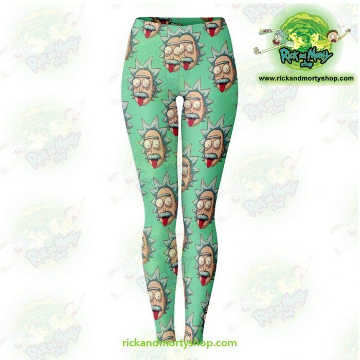 Rick And Morty Legging - Funny Face Sanchez Xs Leggings Aop