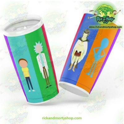 Rick And Morty No Face Tumbler Fashion 2021 20Oz - Aop