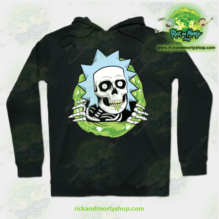 Rick And Morty Ripper Hoodie Black / S Athletic - Aop