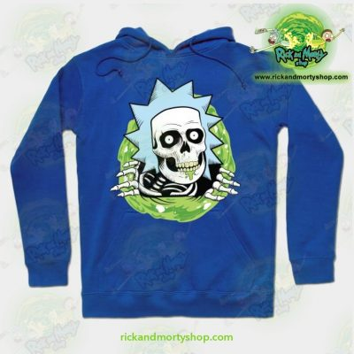 Rick And Morty Ripper Hoodie Blue / S Athletic - Aop