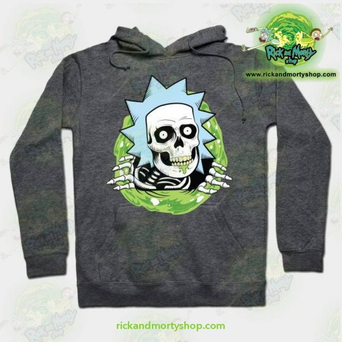 Rick And Morty Ripper Hoodie Grey / S Athletic - Aop