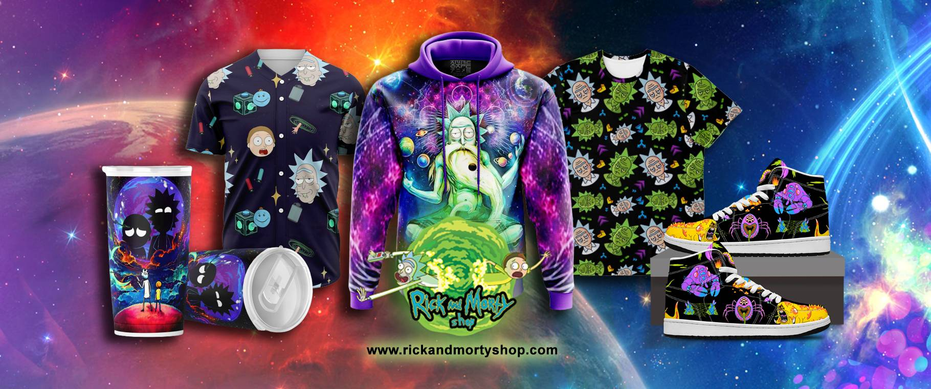 rick and morty shop banner - Rick And Morty Shop