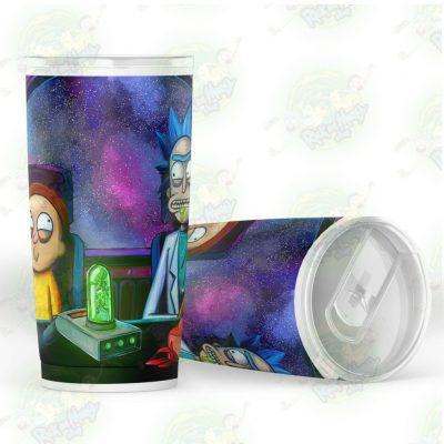 Rick And Morty Spaceship Tumbler 20Oz - Aop