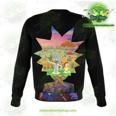 Rick And Morty Sweatshirt New Style Athletic - Aop