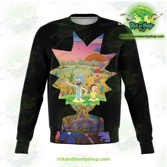 Rick And Morty Sweatshirt New Style Xs Athletic - Aop