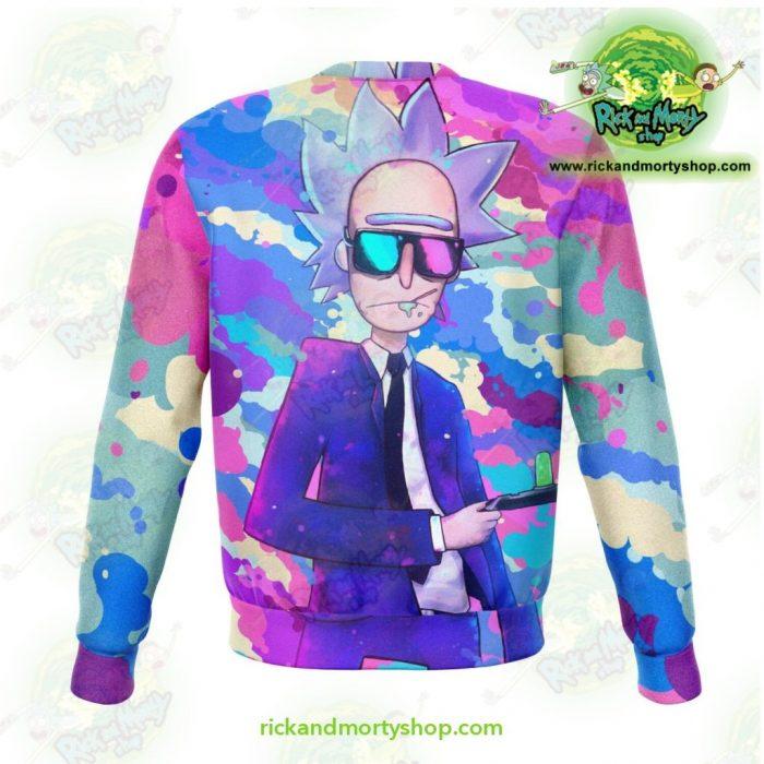Rick And Morty Sweatshirt - Sanchez Cool Athletic Aop